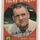 1959 Topps Rocky Bridges Detroit Tigers # 318 NICE !!!!