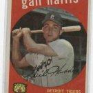 1959 Topps Gail Harris Detroit Tigers Nice !!!!! Baseball Card