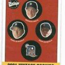 2001 Upper Deck Vintage Brandon Inge Detroit Tigers ROOKIE Baseball Card