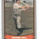 1988 Pacific Legends George Kell Detroit Tigers Baseball Card