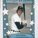 2002 Topps American Pie Kirk Gibson Detroit Tigers Baseball Card Blue