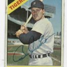 1966 Topps Bill Freehan Detroit Tigers Autograph Baseball Card Auto