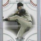 2008 Donruss Threads Mark Fidrych Detroit Tigers Baseball Card