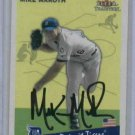 2002 Fleer Tradition Mike Maroth Detroit Tigers Autographed Baseball Card Auto ROOKIE