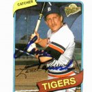 2003 Topps Fan Favorites Lance Parrish Detroit Tigers Autographed Baseball Card Auto