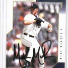 2003 Donruss Team Heroes Mike Maroth Detroit Tigers Autographed Baseball Card Auto