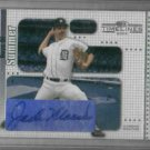 2004 Donruss Boys Of Summer Jack Morris Detroit Tigers Certified Autograph Baseball Card Auto