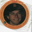 1987 Cains MSA Disc Darrell Evans Detroit Tigers Oddball Unopened