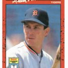 1990 Donruss Learning Series Alan Trammell Detroit Tigers Baseball Card Oddball RARE