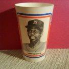 1984 Larry Herndon Frozen Coke Detroit Tigers Cup K Mart Oddball