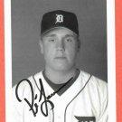 Preston Larrison Detroit Tigers Autograph Photo