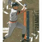 2004 Donruss Leather & Lumber Alan Trammell Detroit Tigers Baseball Card