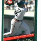 1994 Post Cereal Cecil Fielder Detroit Tigers Baseball Card
