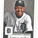 2007 Topps 52 Debut Flashbacks Francisco Cordero Detroit Tigers Baseball Card