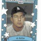 2002 Topps American Pie Sluggers Blue Al Kaline Detroit Tigers Baseball Card