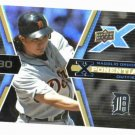 2008 Upper Deck X Potential 3 Magglio Ordonez Detroit Tigers Baseball Card