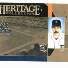 2005 Donruss Diamond Kings Heritage Collection Jack Morris Detroit Tigers Baseball Card