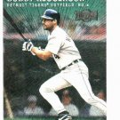 2000 Metal Emerald Bobby Higginson Detroit Tigers Baseball Card