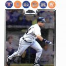 2008 Topps Chrome Placido Polanco Detroit Tigers Baseball Card