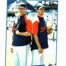 2009 Topps Updates & Highlights Rick Porcello & Ryan Perry Detroit Tigers Baseball Card