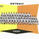 2009 Topps Heritage Detroit Tigers Team Card