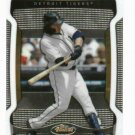 2009 Topps Finest Magglio Ordonez Detroit Tigers Baseball Card