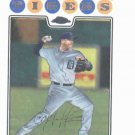 2008 Topps Chrome Carlos Guillen Detroit Tigers Baseball Card