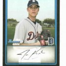2009 Bowman Draft Picks Jon Kibler Detroit Tigers Baseball Card ROOKIE