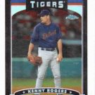 2006 Topps Chrome Black Kenny Rogers Detroit Tigers Baseball Card #D 280/549 Refractor