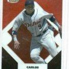 2006 Topps Finest Refractor Carlos Guillen Detroit Tigers Baseball Card #D 272/399