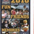 2010 Toledo Mud Hens Pocket Schedule