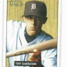 2005 Bowman Heritage Tony Giarratano Detroit Tigers Baseball Card Rookie