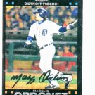 2007 Topps Chrome Magglio Ordonez Detroit Tigers Baseball Card
