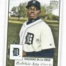 2007 topps 52 Eulogio De La Cruz Detroit Tigers Baseball Card Rookie
