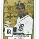 2006 Topps 52 Mark Woodyard Detroit Tigers Baseball Card Rookie