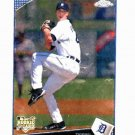 2009 Topps Chrome Rick Porcello Detroit Tigers Baseball Card Rookie