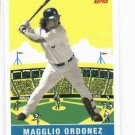 2007 Topps Walmart Magglio Ordonez Detroit Tigers Baseball Card