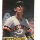 1984 Donruss Alan Trammell Detroit Tigers Baseball Card