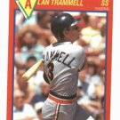 1989 Score Superstar Alan Trammell Detroit Tigers Baseball Card