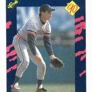 1990 Classic Alan Trammell Detroit Tigers Baseball Card Oddball