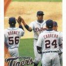 2010 Topps Detroit Tigers Team Card  Jim Leyland
