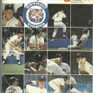 1980 Detroit Tigers Yearbook