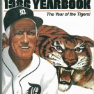 1986 Detroit Tigers Yearbook Sparky Anderson Cover