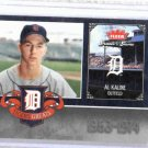 2006 Fleer Greats Of The Game Al Kaline Detroit Tigers Baseball Card