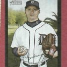 2007 Bowman Heritage Black Jeremy Bonderman Detroit Tigers Baseball Card #D 51/52 RARE