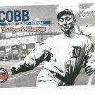 2002 Flair Greats Ballpark Heroes Ty Cobb Detroit Tigers Baseball Card