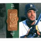 1998 Upper Deck SPX Tony Clark Detroit Tigers Baseball Card Serial #D