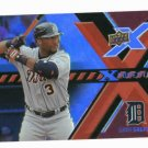 2008 Upper Deck X Ponential Gary sheffield Detroit Tigers Baseball Card