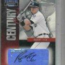 2001 Donruss Signature Series Century Stars Robert Fick AUTO Detroit Tigers Baseball Card #D /232