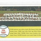 2007 Topps Heritage Detroit Tigers Team Card ERROR